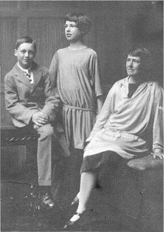 John, Celia and Margaret, 1927